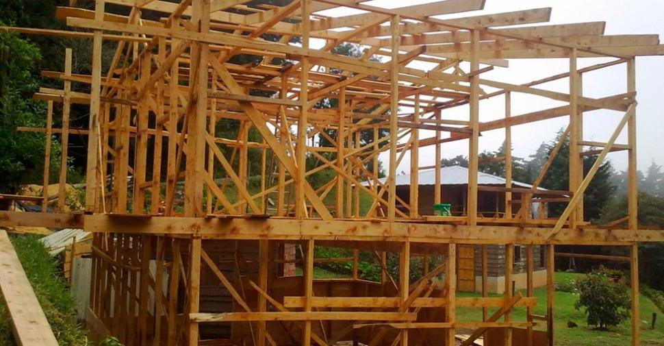 Crece la demanda de construcci n de casas de madera en for Procrear construccion