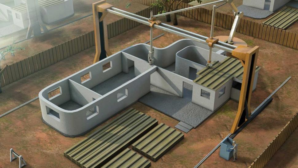 Revoluci n en la construcci n la impresi n de viviendas Impresion 3d construccion