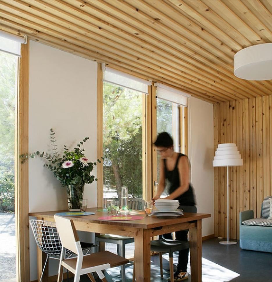 La casa prefabricada ideal linda bonita y barata - Feria de casas prefabricadas ...