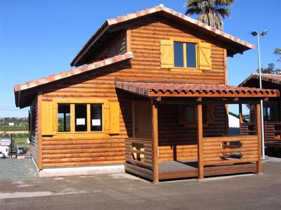 Avanza la construcci n de viviendas de madera para llegar for Viviendas en madera