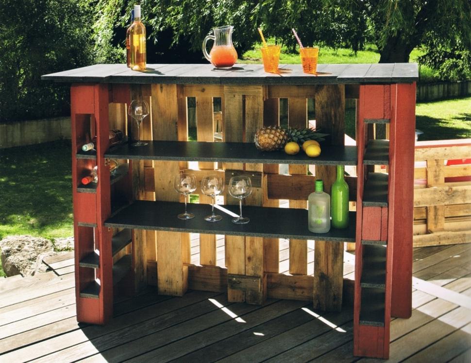 C mo construir bares y barras de madera informe construccion for Barras en madera para bar